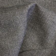 100% Wool Beige and Black Twill Wool Suiting Fabric 150cm Wide x 1.10m